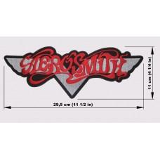 AEROSMITH back patch embroidered logo