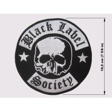 BLACK LABEL SOCIETY back patch embroidered bls