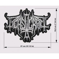 BEASTCRAFT back patch embroidered logo