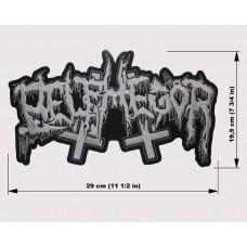 BELPHEGOR back patch embroidered logo