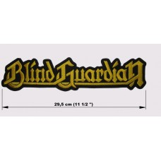 BLIND GUARDIAN back patch embroidered logo