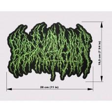 BLOOD INCANTATION back patch embroidered logo