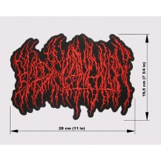BLOOD INCANTATION back patch embroidered logo