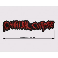 CANNIBAL CORPSE back patch embroidered logo