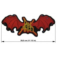 DARK ANGEL back patch embroidered logo