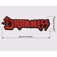 DARKNESS back patch embroidered logo