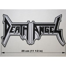 DEATH ANGEL back patch embroidered logo Leprosy