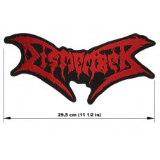 DISMEMBER back patch embroidered logo