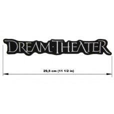 DREAM THEATER back patch embroidered logo