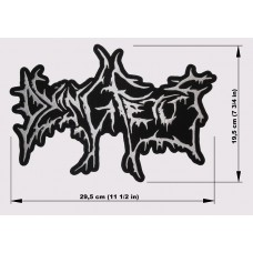 DYING FETUS back patch embroidered logo
