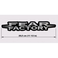 FEAR FACTORY back patch embroidered logo