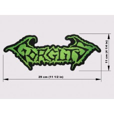 GORGUTS back patch embroidered logo