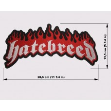 HATEBREED back patch embroidered logo