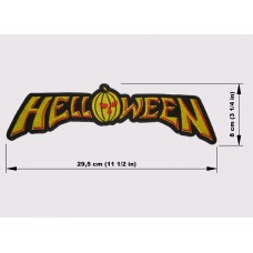 HELLOWEEN back patch embroidered logo