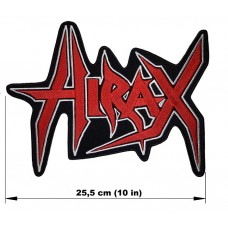 HIRAX back patch embroidered logo