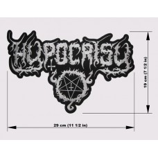 HYPOCRISY back patch embroidered logo