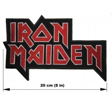 IRON MAIDEN back patch embroidered
