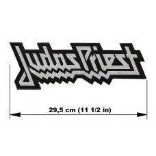 JUDAS PRIEST back patch embroidered logo