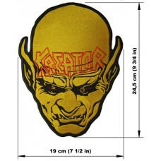 KREATOR back patch embroidered logo