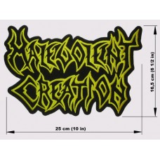 MALEVOLENT CREATION back patch embroidered logo