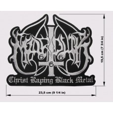 MARDUK back patch embroidered logo