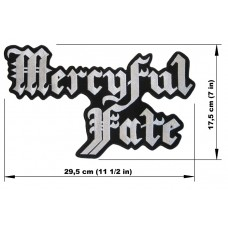 MERCYFUL FATE back patch embroidered logo