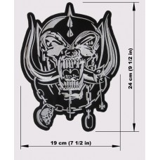 MOTORHEAD back patch embroidered Warpig