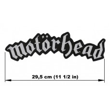 MOTORHEAD back patch embroidered logo