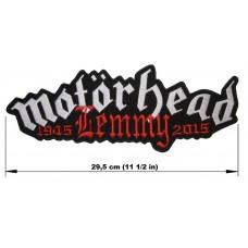 MOTORHEAD back patch embroidered logo Lemmy