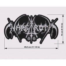 NARGAROTH back patch embroidered logo