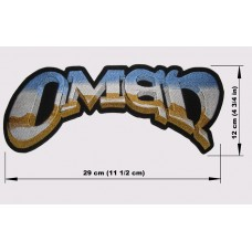 OMEN back patch embroidered logo