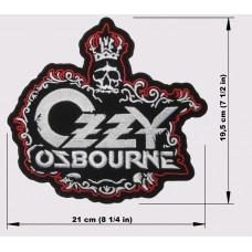 OZZY OSBOURNE back patch embroidered logo