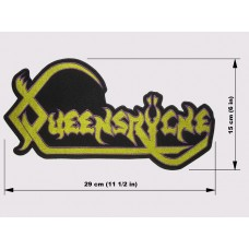 QUEENSRYCHE back patch embroidered logo