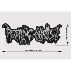 ROTTING CHRIST back patch embroidered logo