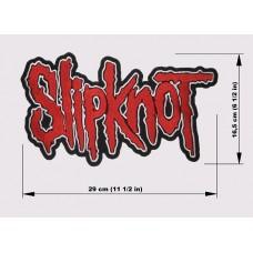 SLIPKNOT back patch embroidered logo