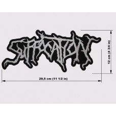 SUFFOCATION back patch embroidered logo