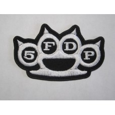 FIVE FINGER DEATH PUNCH 5FDP patch embroidered