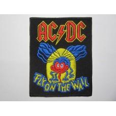 AC/DC patch embroidered Fly On The Wall