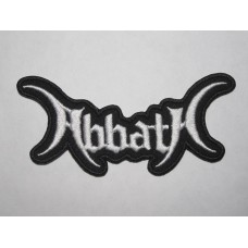 ABBATH patch embroidered