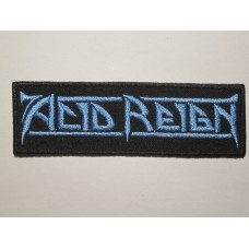 ACID REIGN patch embroidered