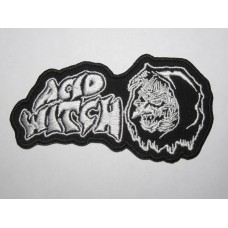 ACID WITCH patch embroidered