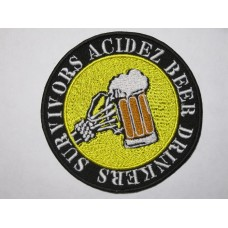 ACIDEZ patch embroidered
