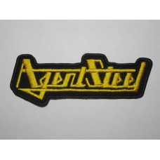 AGENT STEEL patch embroidered