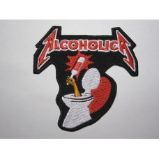 ALCOHOLICA patch Metallica embroidered