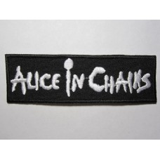 ALICE IN CHAINS patch embroidered