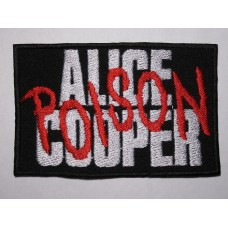 ALICE COOPER patch Poison embroidered