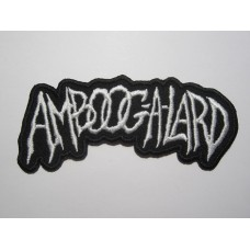 AMBOOG-A-LARD patch embroidered