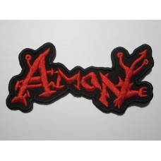 AMON patch embroidered