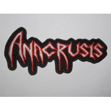 ANACRUSIS patch embroidered