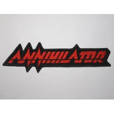 ANNIHILATOR patch embroidered